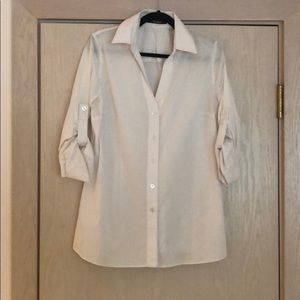 Tahari Button Down Blouse